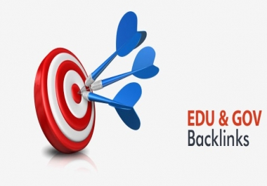 Create 100 Edu and Gov Redirect Backlinks with Index