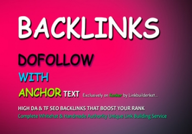 250+ High Authority SEO Backlinks Services Dofollow SEO Link Building