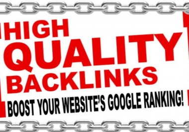 Boost Your SEO Ranking With High Da Backlinks Manually