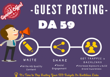 guest post on my google news approved da 59 news blog with dofollow(Limited offer)