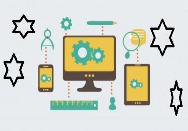 Do responsive design a Blog website