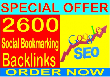 Best SEO Sell-2019- I will do 2600 Social Bookmarking  PR9 Safe SEO High Pr Backlinks 2019 Best Results