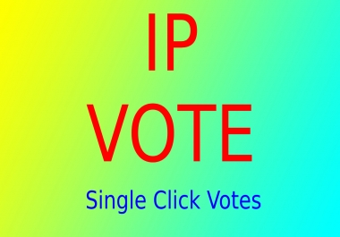 1000 Targated USA Different IP Votes, Single IP Votes For Any Contest Polls