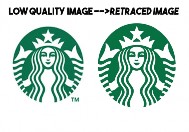 Redraw Low Resolution Logo To High Resolution Vector In 12 Hours