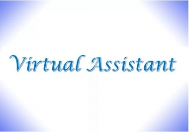 be your virtual assistant for any data entry jobs