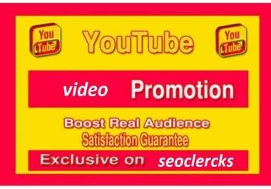 Youtube Member  promotion social media marketing