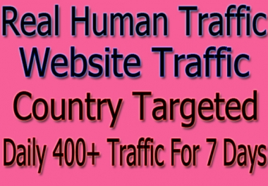 Boost Google, Website Ranking With Targeted  Web Traffic