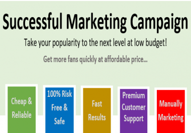 Successful fans marketing campaign - Pack 200