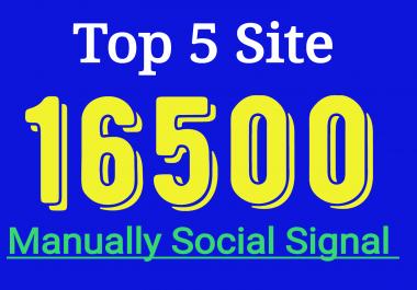providing top 2200 awesome SEO social signals