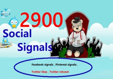 providing top 2900 awesome SEO social signals