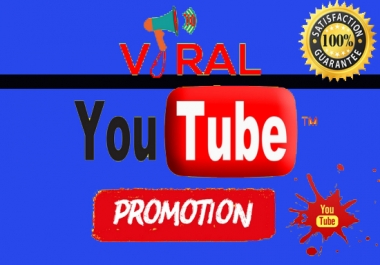 Real Youtube Video Promotion Marketing