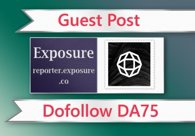 Guest post on Exposure - DA75