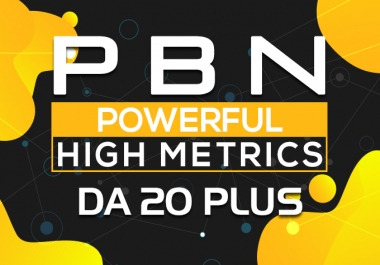 Construct, High Quality 50 PBN Backlinks, To Site Increasing