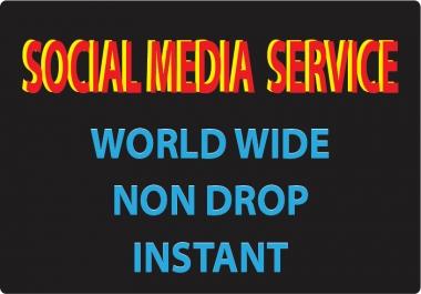 7000 Social media photooo promotion instant