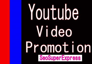 Organic Youtube Video Promotion Through Social media marketing with fast Delivery