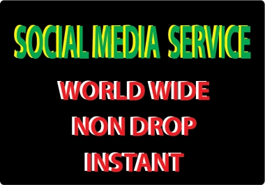 Super fast 20k non drop social media video promotion instan