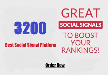 Peaceful 3200 Drip feed seo social signals