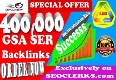 400,000 Gsa Ser Backlinks For Ranking Website, youtube