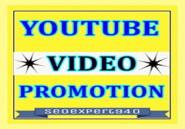 YouTube Video Promotion and Marketing in 12 Hours