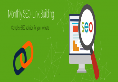 Monthly SEO Link Building Package