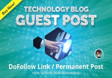 publish Guest Post on PR 7 High Quality Tech Blog