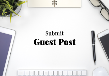 Write and publish 10 Guest Posts on High DA websites