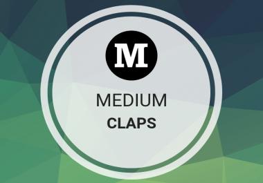 Get it 1000 Medium Claps To Your Post