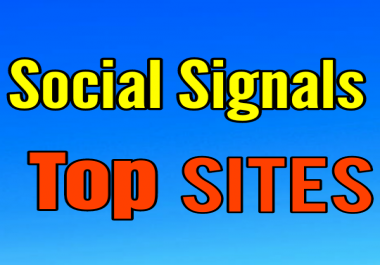PR9 500 + 100 Tumblr, 5 Reddit and 150 Pinterest or 50 V.K Share Site Signals to Your Link URL