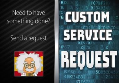 Custom Order - Do not order do not order