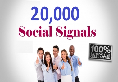 add 20,000 pinterest social signals from high authority social media sites