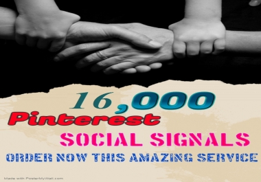 TOP fast Add 16,000+ pinterest Social Signals to Improve SEO and Boost Google Ranking
