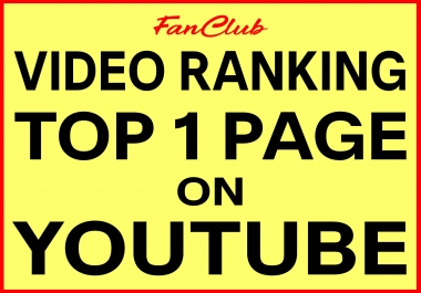 Video Ranking Top 1 Page On YouTube 2019 - Nobody Ranks Better