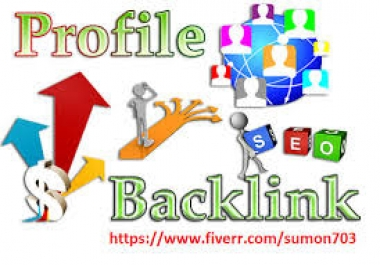 Give you 50+ high quality  profile backlink in your business