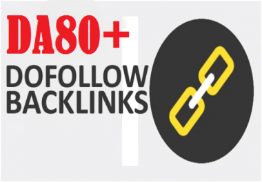 DA80+ DO Follow-INDEXED High Authority Profile Backlinks