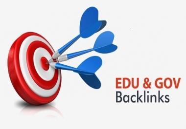 60 High Quality Edu and Gov Backlinks