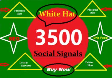 provide 3500 real SEO social signals