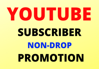Non Drop Real Manual High Quality YouTube Promotions Social Media Marketing Very Fast Order Delivery