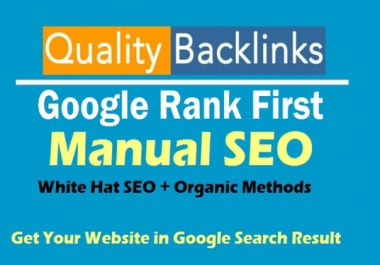Rank Your Website On Google 4 Days Dofollow Backlinks Manually