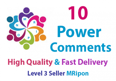 Get Instant High Quality Real Social Custom Power Comments