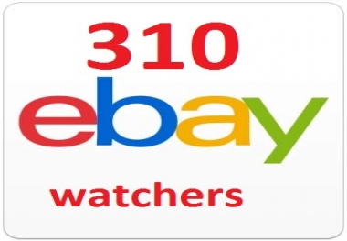 Give You 310 UK, USA, AU, CAD Ebay watchers & collection to boost your sales