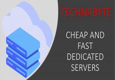 Cheap Managed Dedicated Servers E3-1230v6 4 + 16GB of RAM