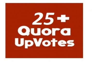 Bring up 25 worldwide Quora up votes only