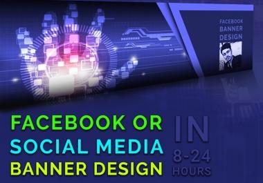 Design a Facebook cover photo banner design