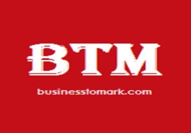 Publish A High Quality Guest Post on Businesstomark. com