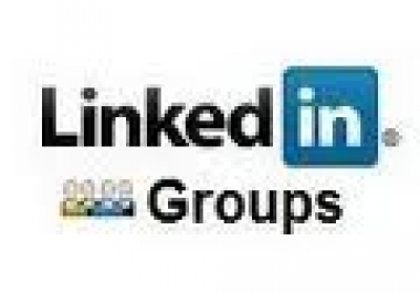 manually post your URL in 30 LinkedIn Groups
