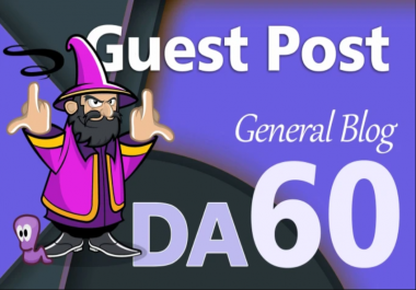 Guest Post On My Da 60 General News Blog 10 Years Old