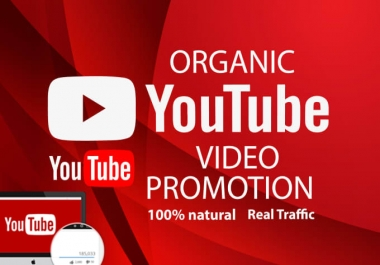 High Quality YouTube Video Marketing Package With Lifetime Non Drop Guarantee