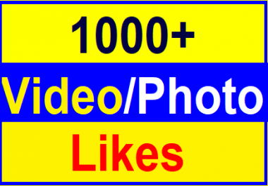 Add Fast 1,000+Likes In Social Media High Quality Instant Delivery Just