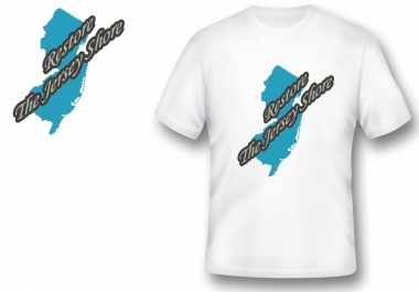 design a tshirt front graphics