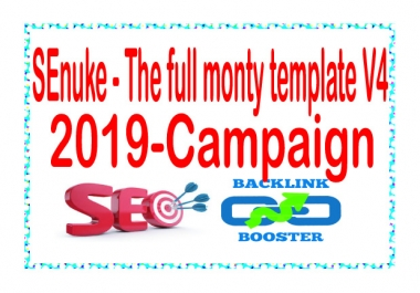 Get SEnuke - The full monty template V4 (2019) - Campaign
